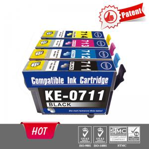 Compatible printer cartridge for epson T0711
